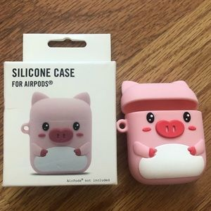 silicone case for airpods 🐷